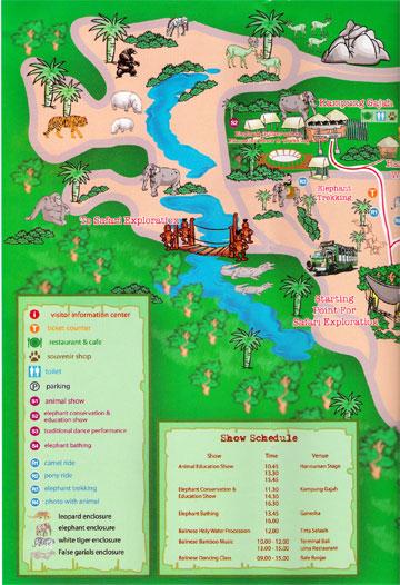 Bali Safari map2