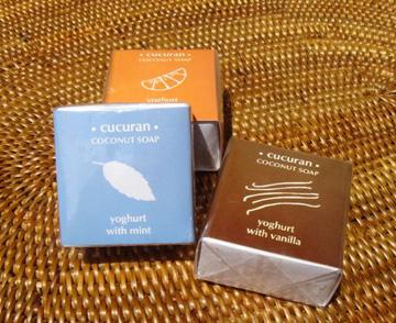 新商品のチュチュラン石鹸