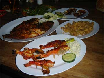 Blue Marlin_menu_seafood