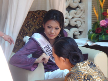 Taman sari Miss Universe 2007_2