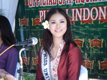 Taman sari Miss Universe 2007_4
